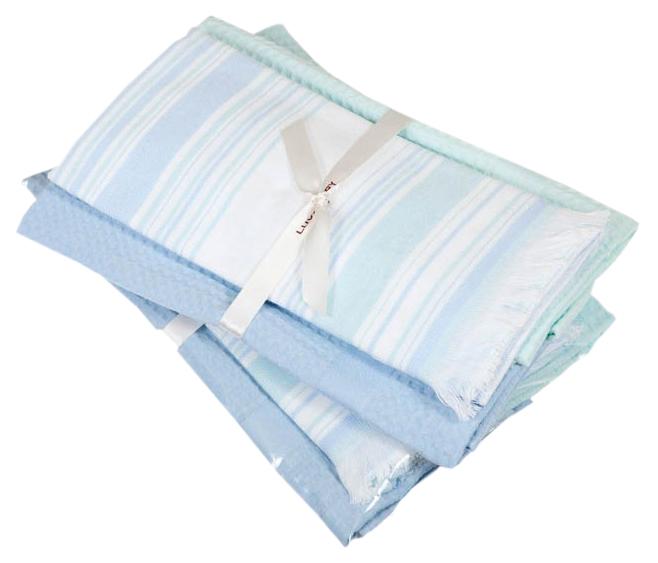 Полотенце Luxberry Акварель 0204630061 04121 Белый; Голубой;
