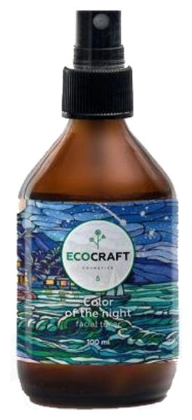 Купить Тоник для нормальной и сухой кожи EcoCraft Color of the night 100 мл