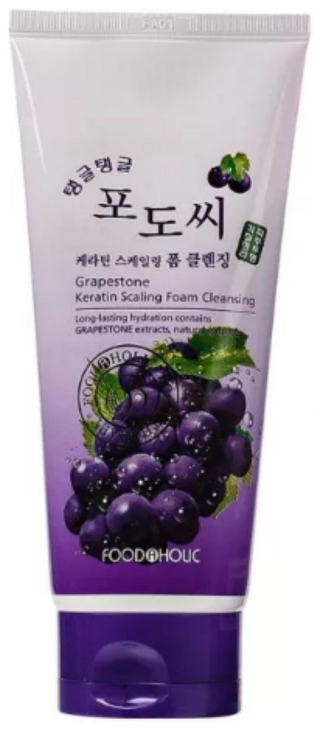 Очищающая пенка FoodaHolic Grapestone Keratin Scaling Foam