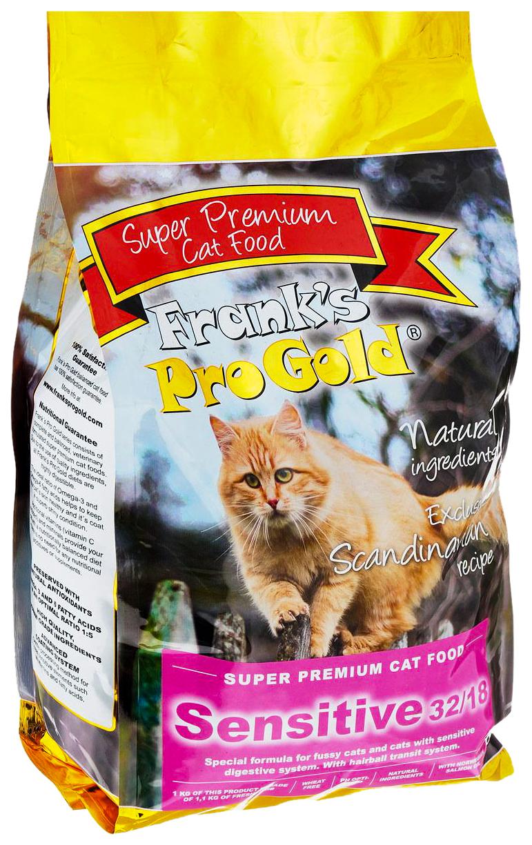 Сухой корм для кошек Frank's ProGold Sensitive,