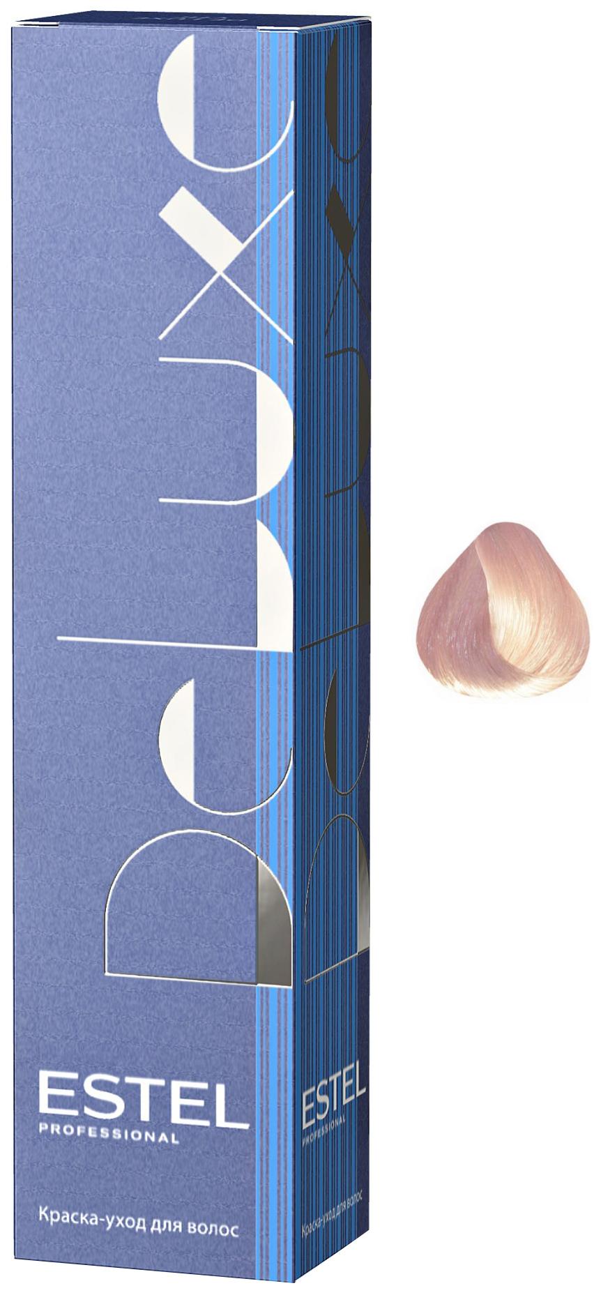 Краска для волос ESTEL De Luxe 10/66 Светлый блондин фиолетовый интенсивный 60 мл