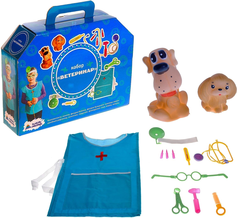 Игровой набор Ветеринар Плэйдорадо 13 предметов фото