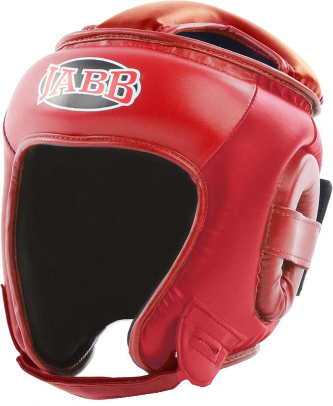 Боксерский шлем Jabb JE 2093 красный XL