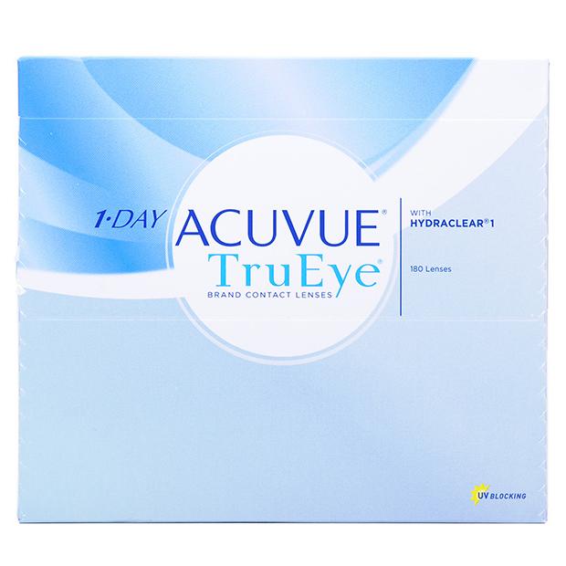 Контактные линзы 1-Day Acuvue TruEye 180 линз R 9,0 -10,00 фото