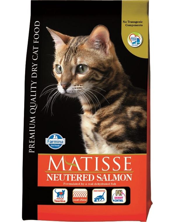 Сухой корм для кошек Farmina Matisse Neutered, для стерилизованных, лосось, 10кг фото
