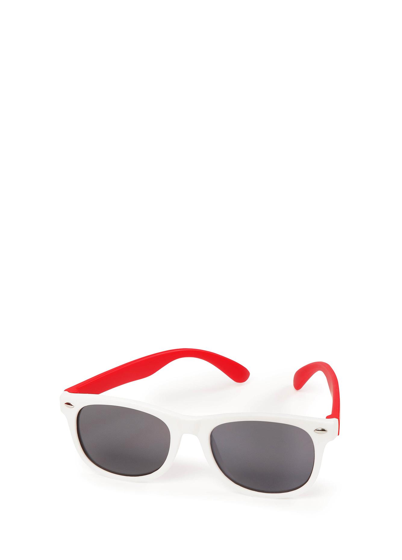 Очки солнцезащитные Happy Baby White and red