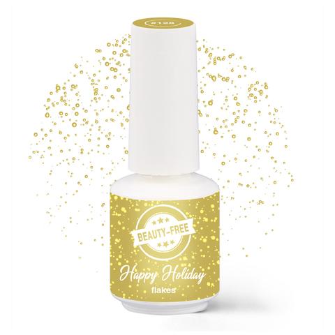 Купить Гель-лак Happy Holiday Сусальное золото №128, 8 мл, BEAUTY-FREE