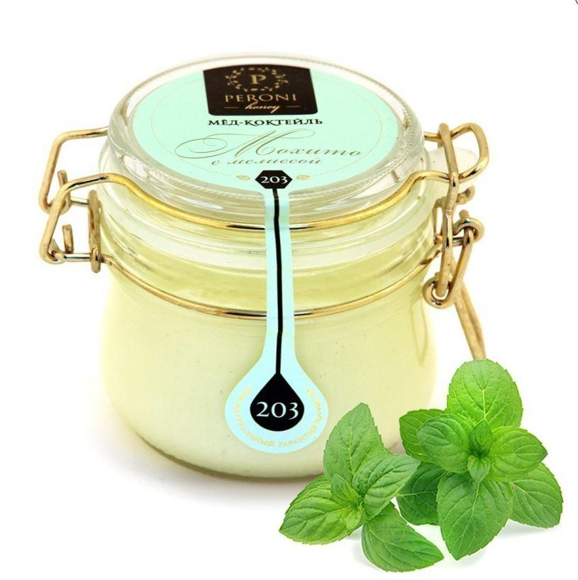 Мед-суфле Peroni Honey мохито с мелиссой 250 г фото