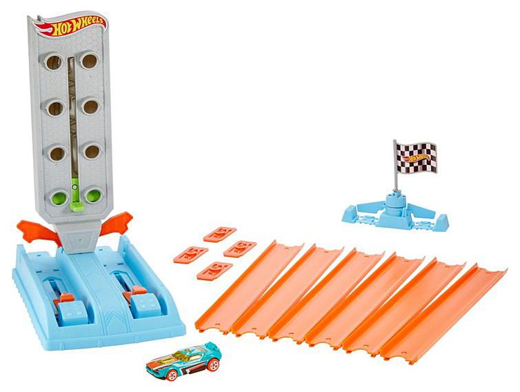 Купить Mattel Hot Wheels GBF82 Хот Вилс Гоночный игровой набор Чемпион, Мастер дрифта, Наборы игрушечного транспорта