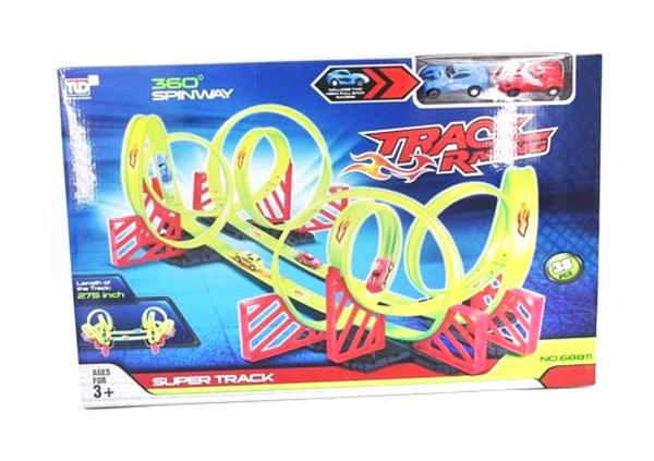 Детский пусковой трек TLD Track Racing длина