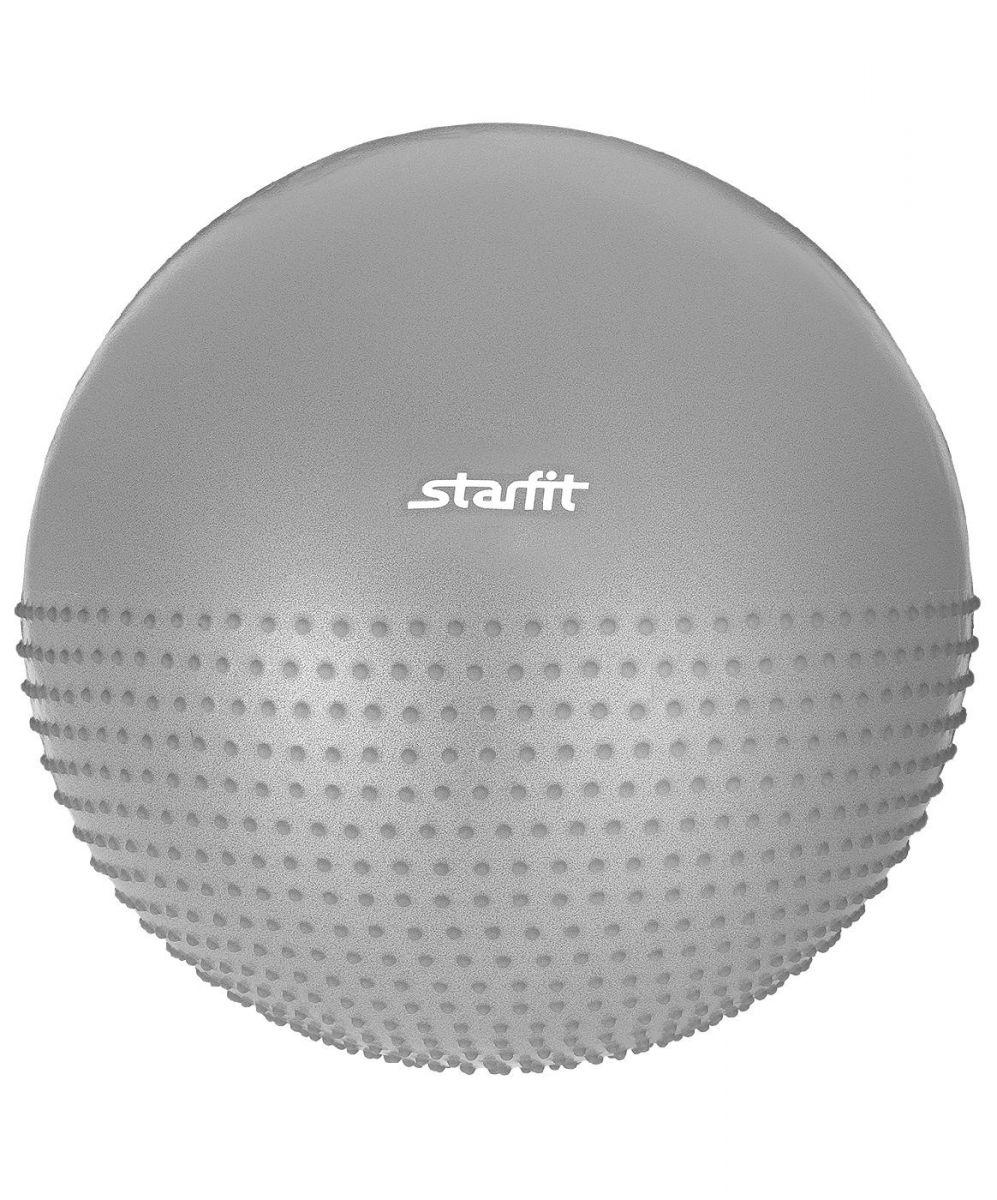 Гимнастический мяч StarFit GB 201 55 см серый