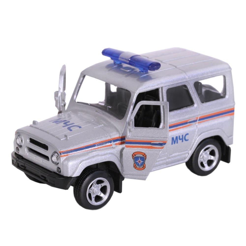 Машинка металлическая Автопанорама МЧС, серебро (1:50) 1200053