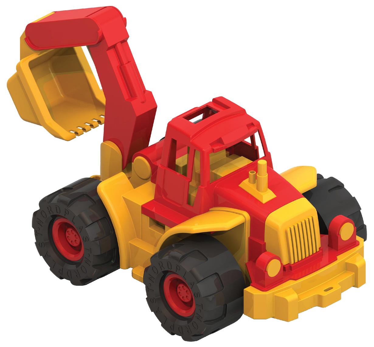Нордпласт Трактор богатырь с ковшом Нордпласт Р12795 фото