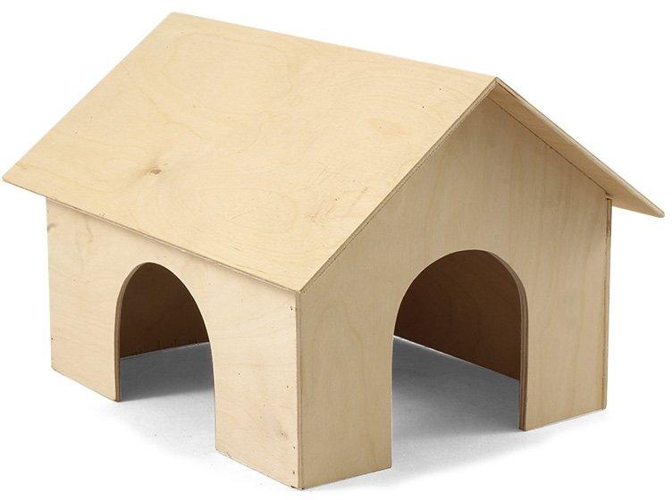 Домик деревянный для морской свинки Gamma