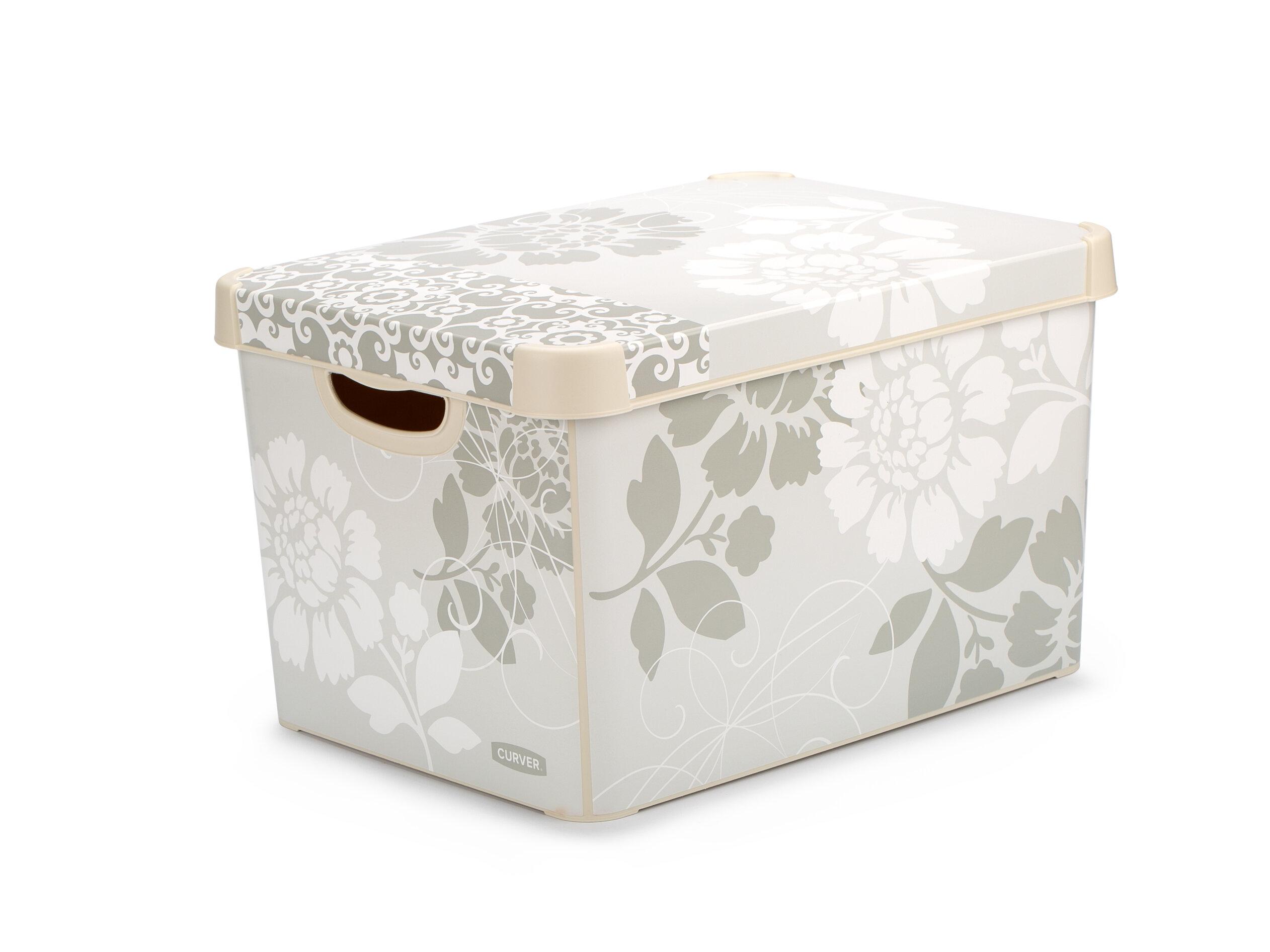 Ящик для хранения Curver Stockholm romance 22 л