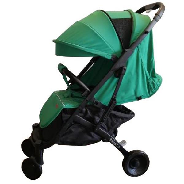 Купить Прогулочная коляска Babalo Yoya Plus 4 зеленая черная рама, BABALUNO, Коляски книжки