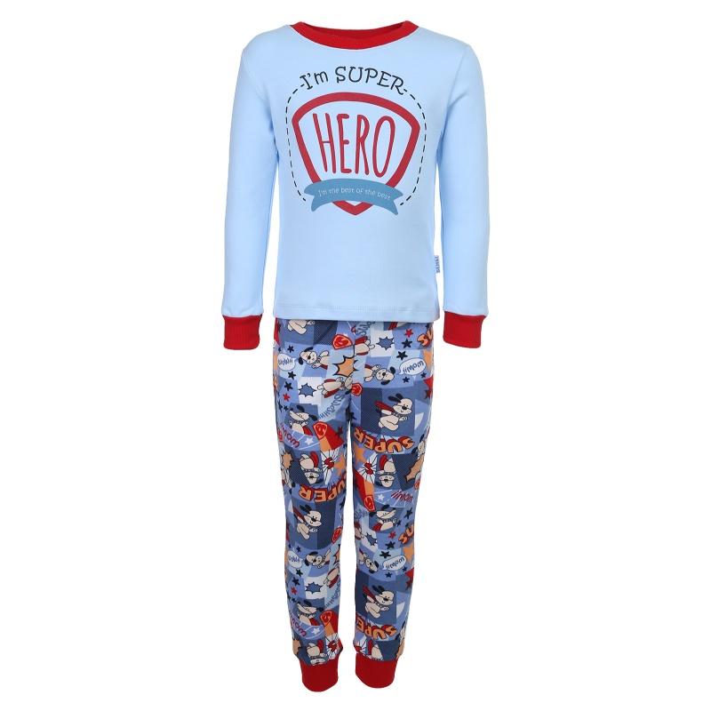 Пижама детская Bembi, цв. голубой р.98 401, ПЖ39
