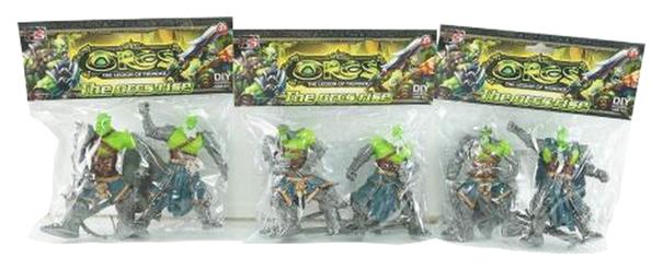 Купить Фигурки Shantou Gepai Orcs 1604L365 2 шт в ассортименте, Игровые наборы