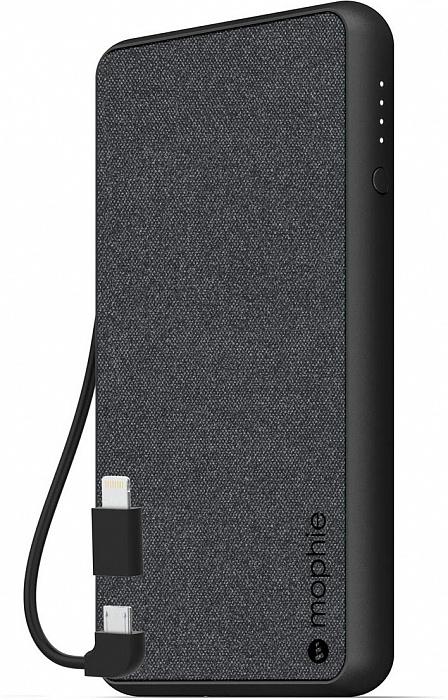 Внешний аккумулятор MOPHIE Powerstation Plus 6k Gen 4 6000 мА/ч Black фото