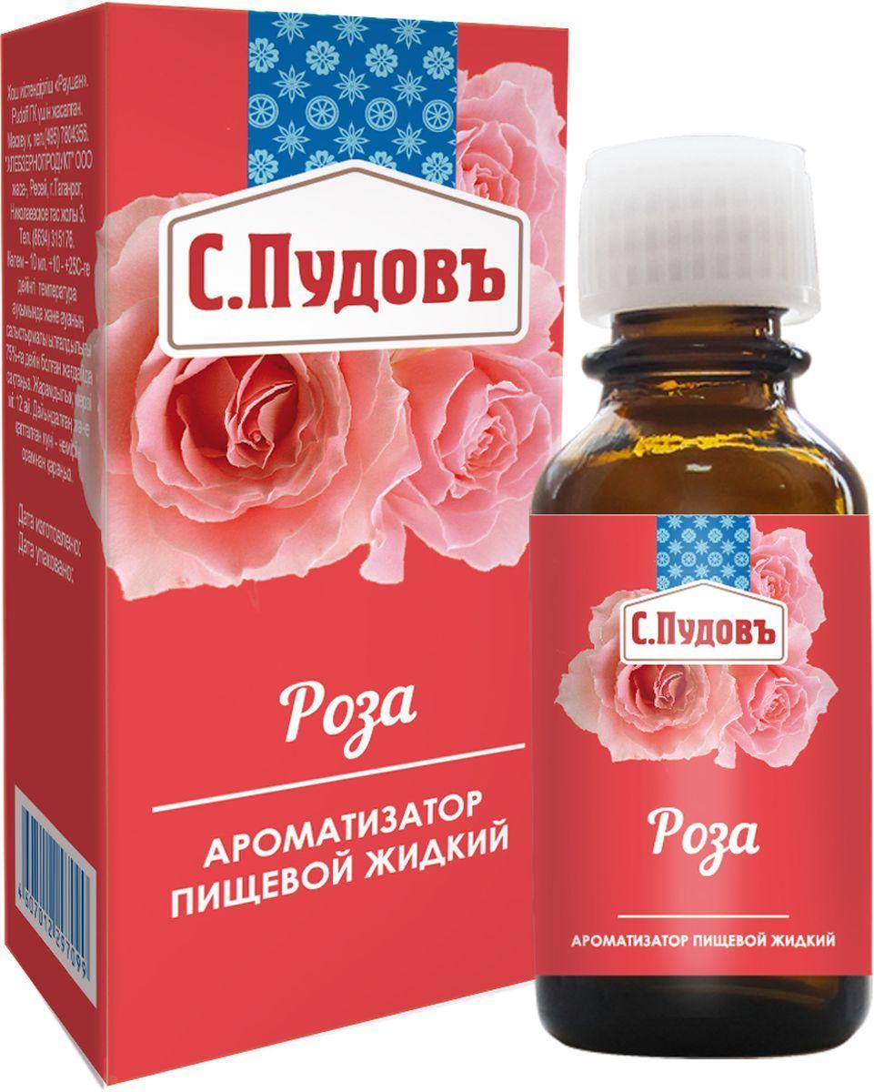 Ароматизатор пищевой роза С.Пудовъ 10 мл фото