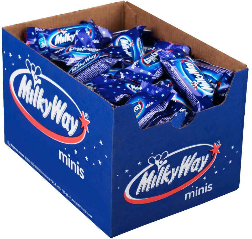 Развесные конфеты Milky Way минис 1 кг.