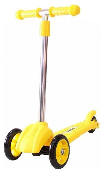 Купить Самокат RT MINI ORION желтый, R-TOYS, Самокаты детские трехколесные