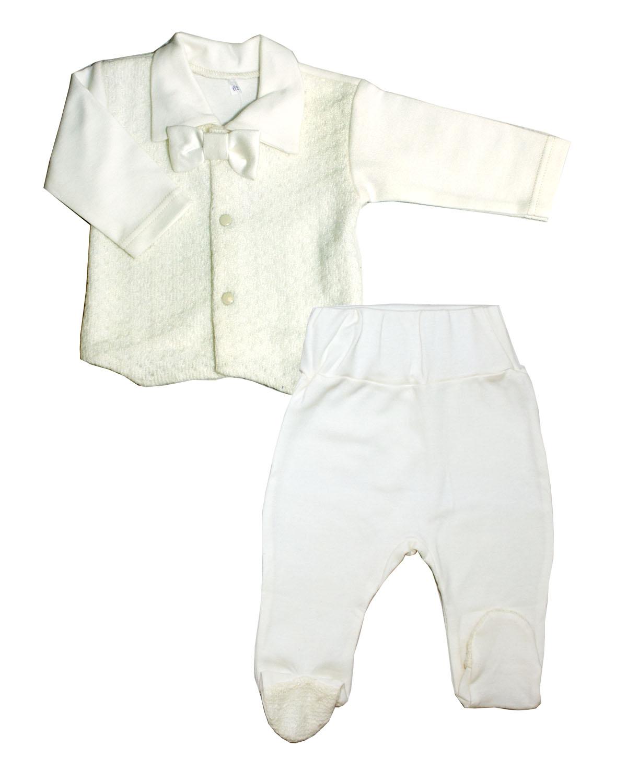 Комплект одежды для мальчиков Осьминожка 818-258-24/80 белый р.