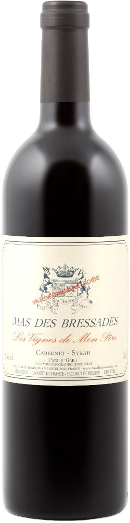 Вино Mas des Bressades Les Vignes de Mon Pere Pays du Gard IGP 2016 фото