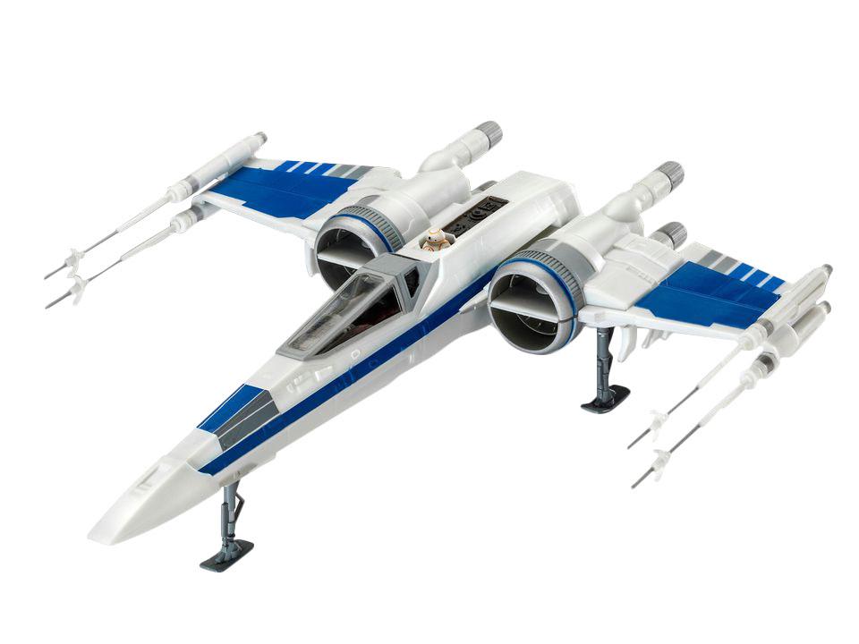Сборная модель звездные войны «истребитель x-wing сопротивления» (1:50), easykit Revell