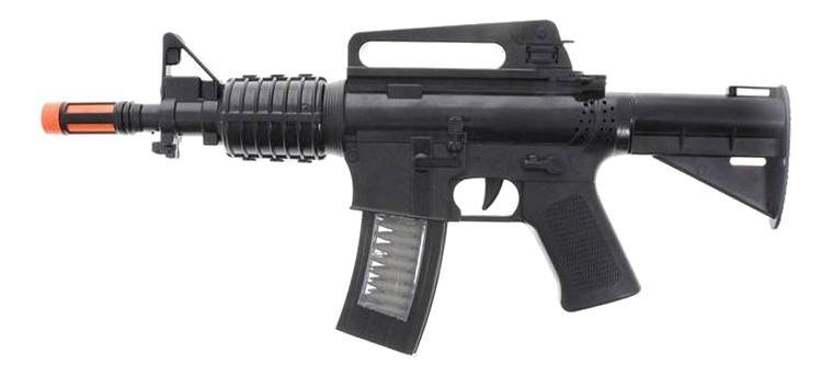 Купить Винтовка М16, Винтовка м16 со звуком ars-252, ABtoys, Стрелковое игрушечное оружие
