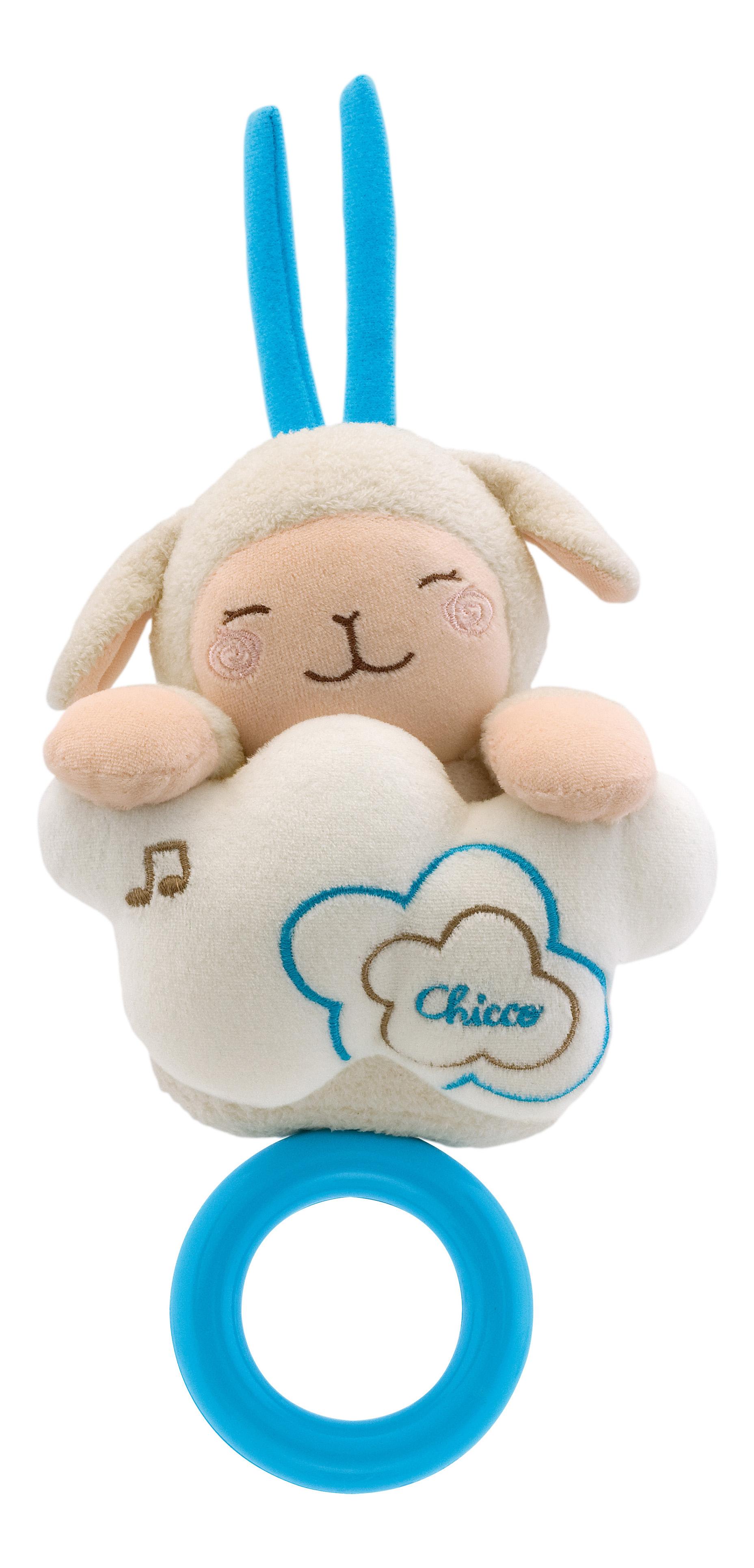 Купить Подвеска музыкальная для кроватки Chicco Мягкая овечка 74200, Развивающие игрушки