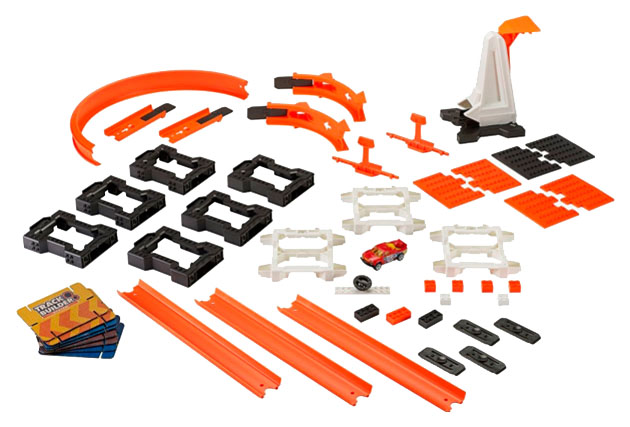 Купить Track Builder Construction Crash Kit, Автотрек Hot Wheels Взрывной набор DWW96, Детские автотреки