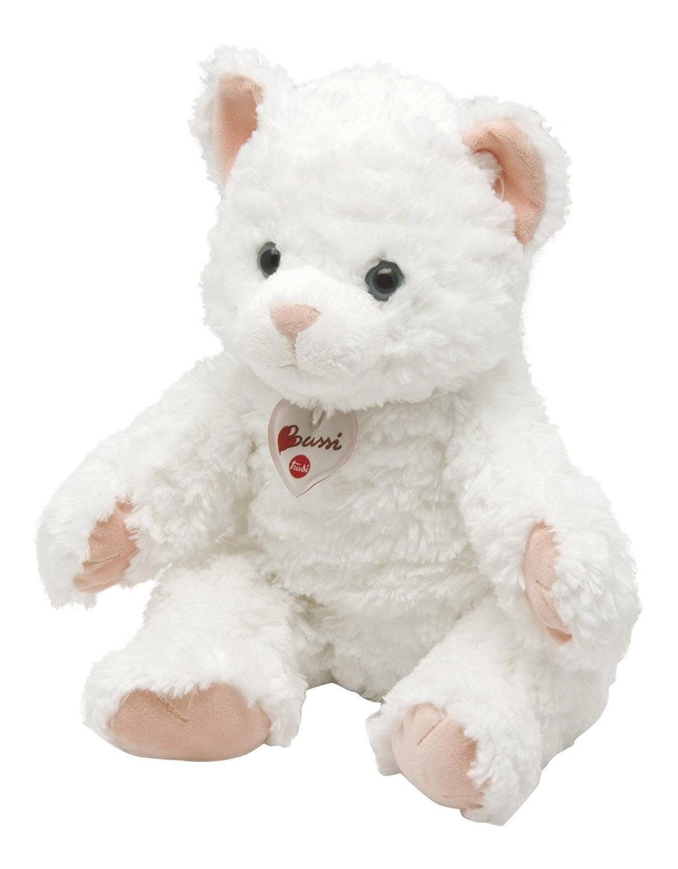 Купить Кошка, Мягкая игрушка Trudi Белая кошка, 38 см, Мягкие игрушки животные