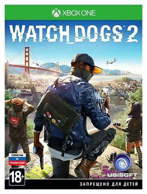 Игра Watch Dogs 2 для Xbox One Ubisoft