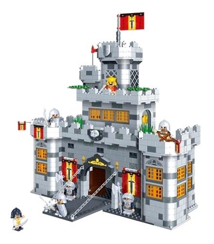 Купить Замок рыцарец, Конструктор BANBAO Замок рыцарей 988 деталей, Конструкторы пластмассовые
