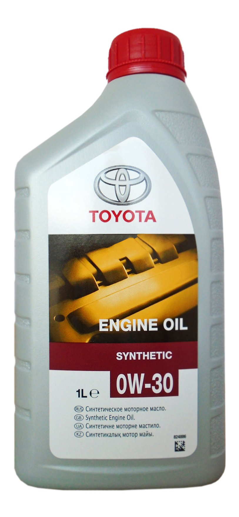 Моторное масло Toyota Engine Oil Synthetic SAE 0W-30 1л