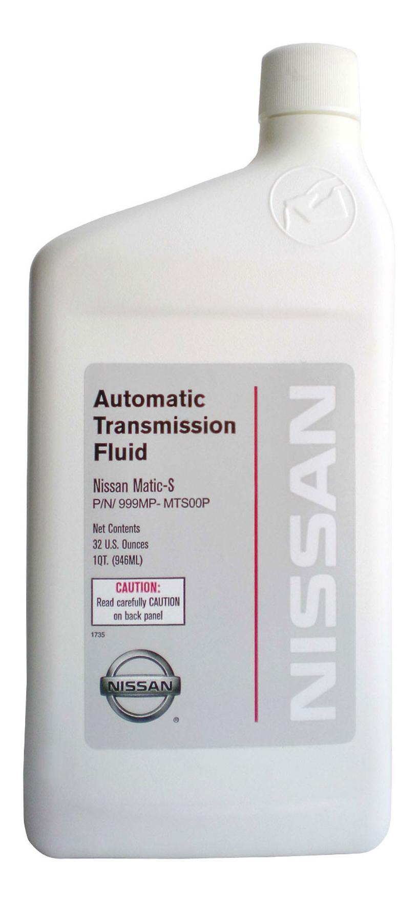 Трансмиссионное масло Nissan 0.946л 999MP-MTS00P