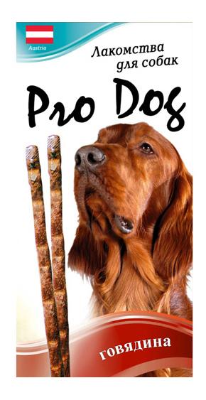 Лакомство для собак PRO DOG Лакомые палочки