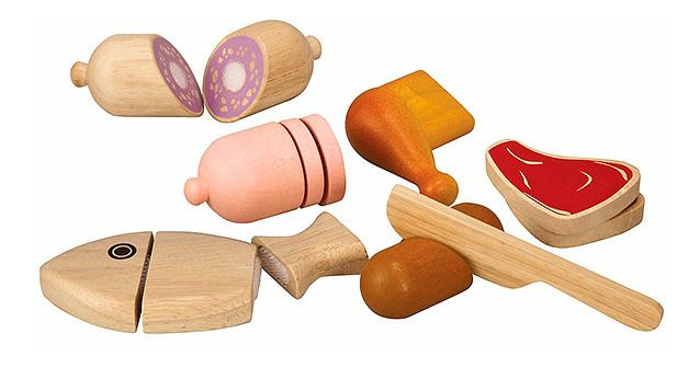 Купить Набор Plan Toys Мясо, PlanToys, Игрушечные продукты