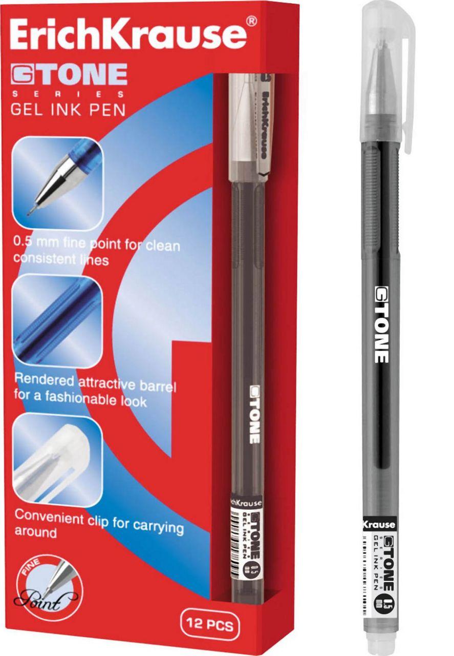 Гелевая ручка Erich Krause G-Tone черный