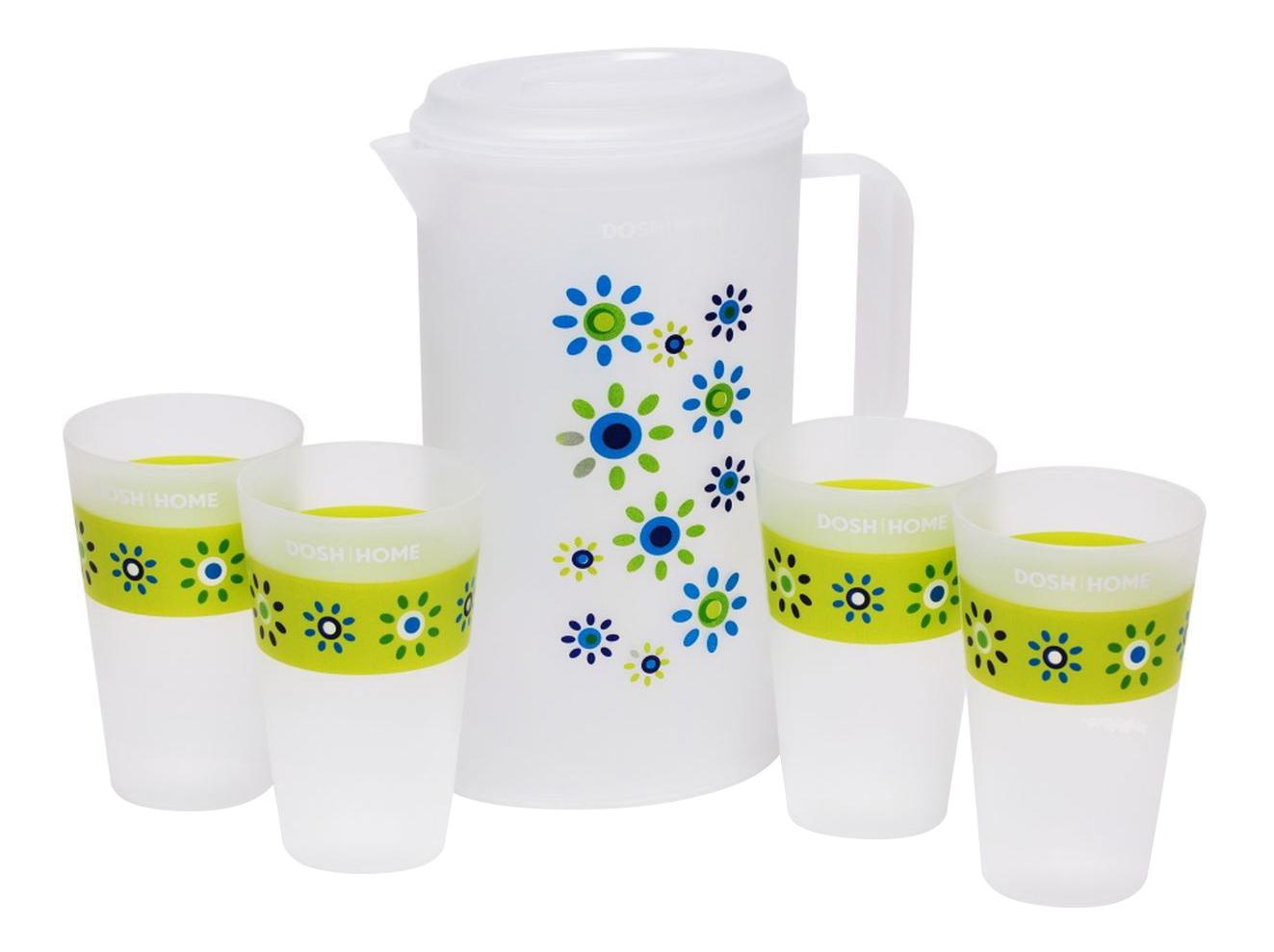 Набор стаканов и кувшин DOSH | HOME 500100