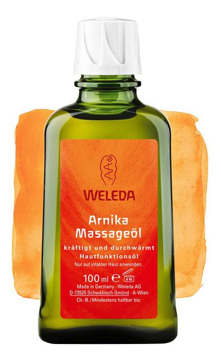 Купить Масло для тела WELEDA с арникой 100 мл, массажное масло с арникой 100 мл