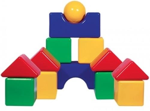 Купить Набор кубиков ПЛАСТМАСТЕР Большая стройка (14024), Пластмастер, Развивающие игрушки