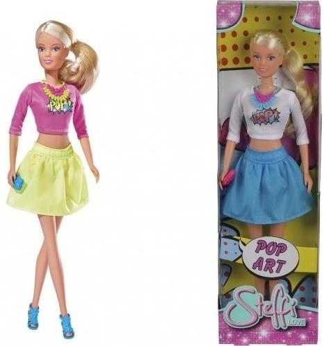 Купить Кукла SIMBA Штеффи Поп Арт, в ассортименте, Классические куклы