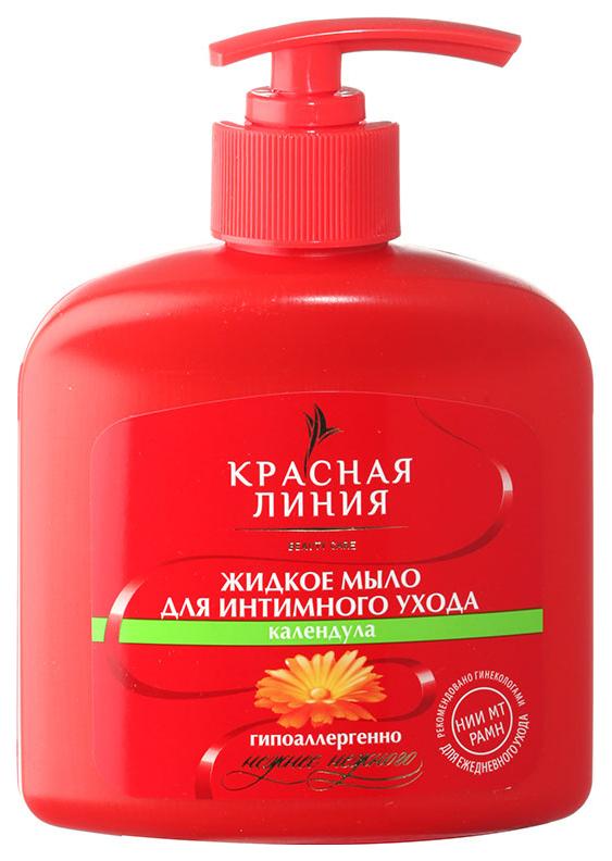 Жидкое мыло для интимного ухода Красная Линия Календула