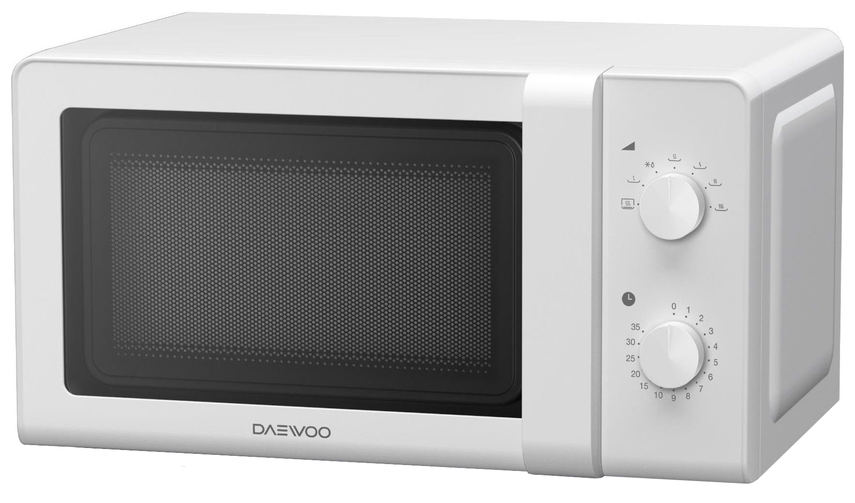 Микроволновая печь соло Daewoo KOR-6627W white