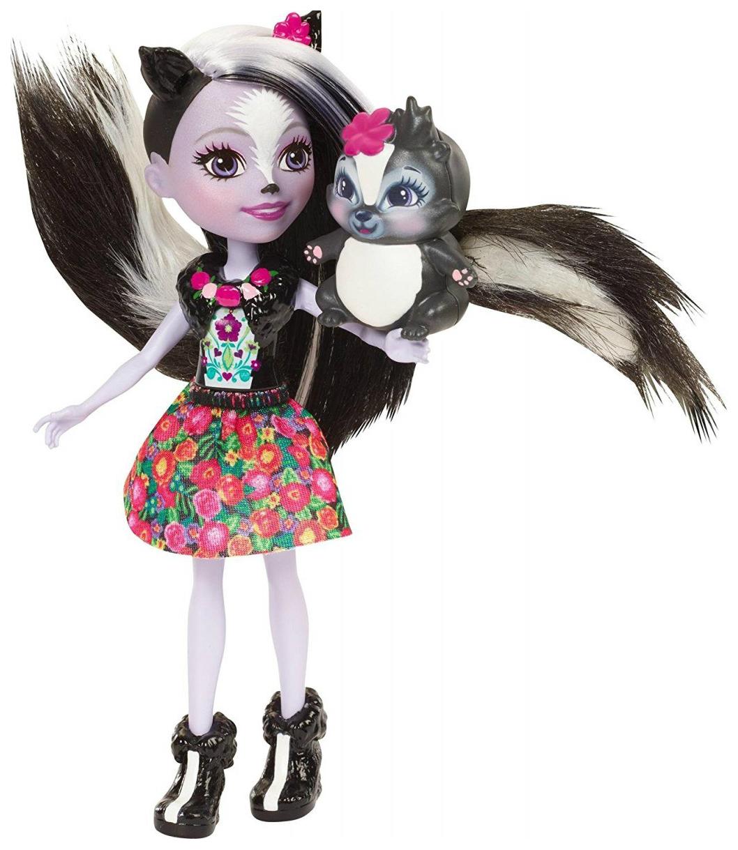 Коллекционная кукла Enchantimals сейдж скунси и Кейпер