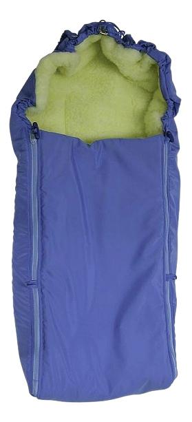 Купить Конверт-мешок для детской коляски Чудо-Чадо Классика голубой, Конверты в коляску