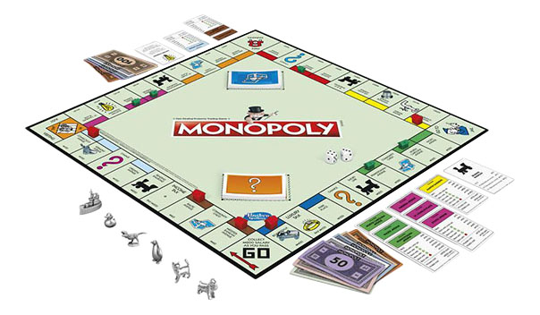 HASBRO GAMES MONOPOLY CLASSIC GAME