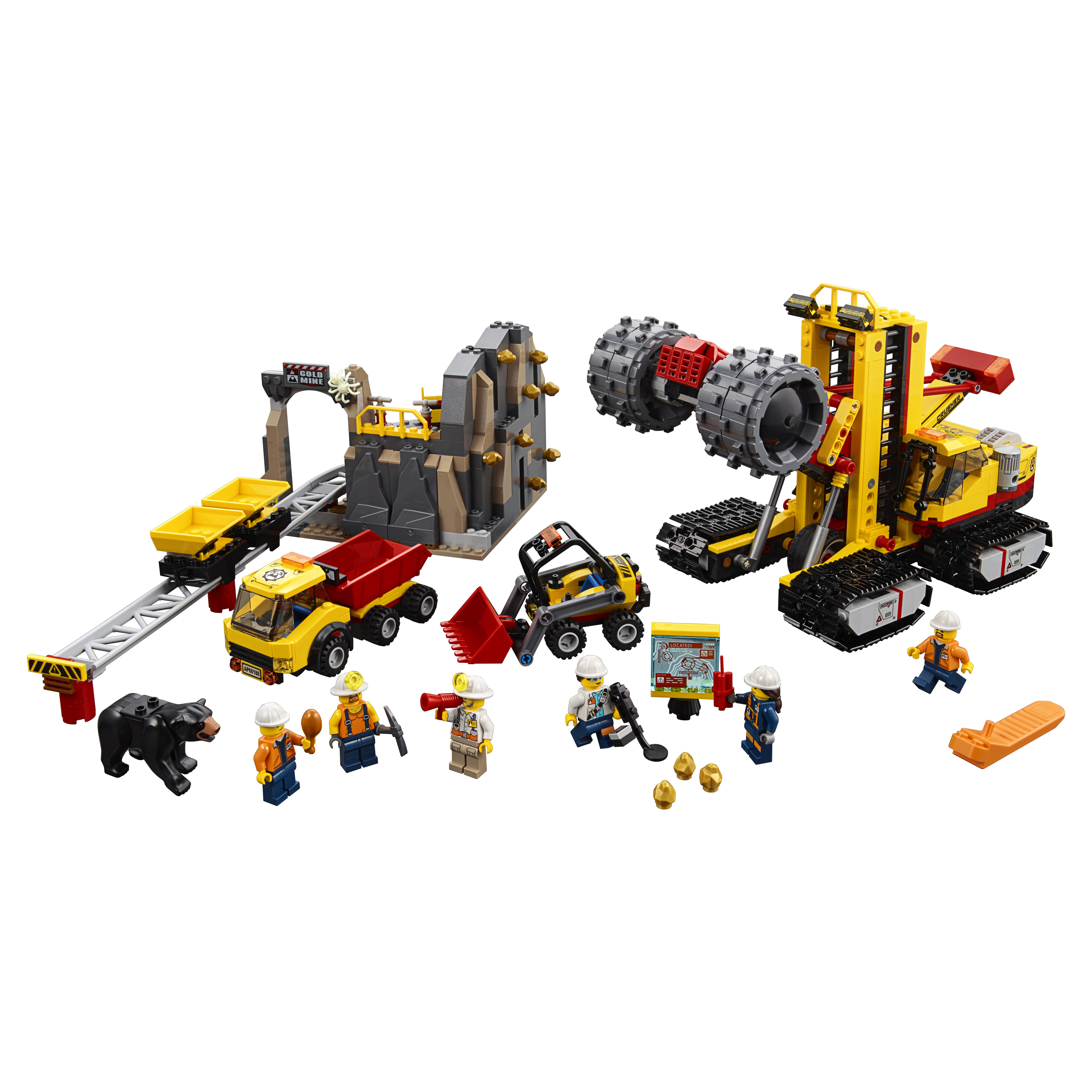 Купить Конструктор lego city mining шахта (60188), Конструктор LEGO City Mining Шахта (60188)